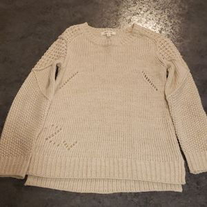 NWOT Tan Sweater